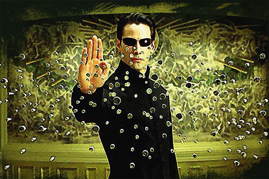 Photo-wallpaper The Matrix from 120x80cm
