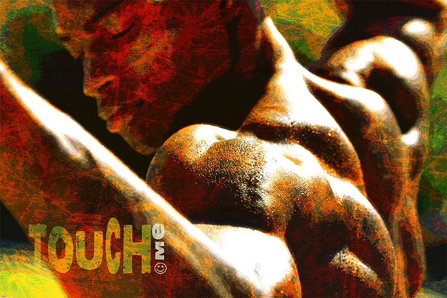 Photo wallpaper Touch Me from 120x80cm