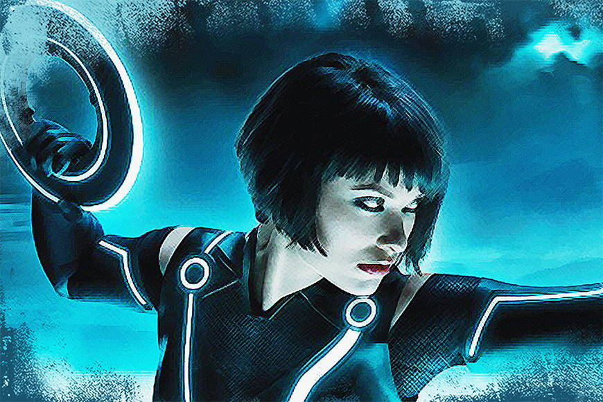 Photo-wallpaper Tron Moment from 120x80cm