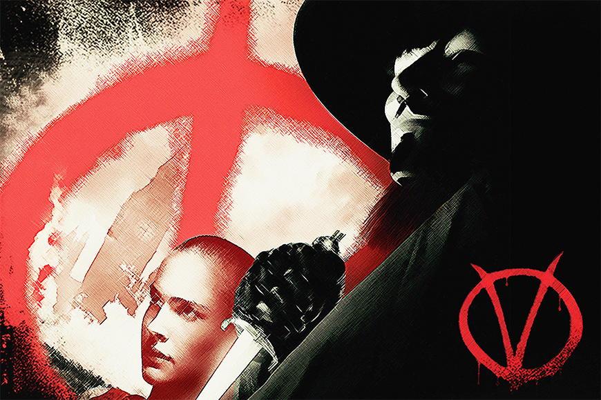 Photo-wallpaper Vendetta from 120x80cm