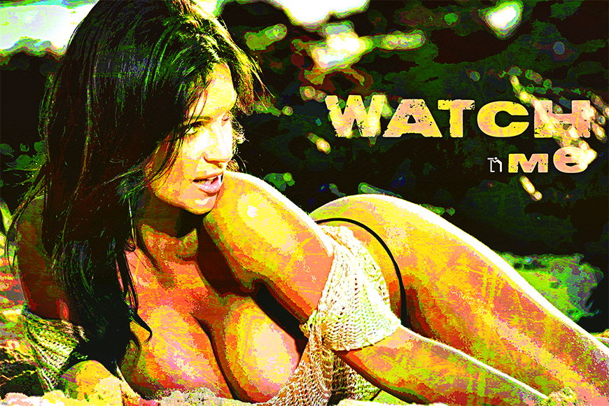 Photo-wallpaper Watch Me from 120x80cm