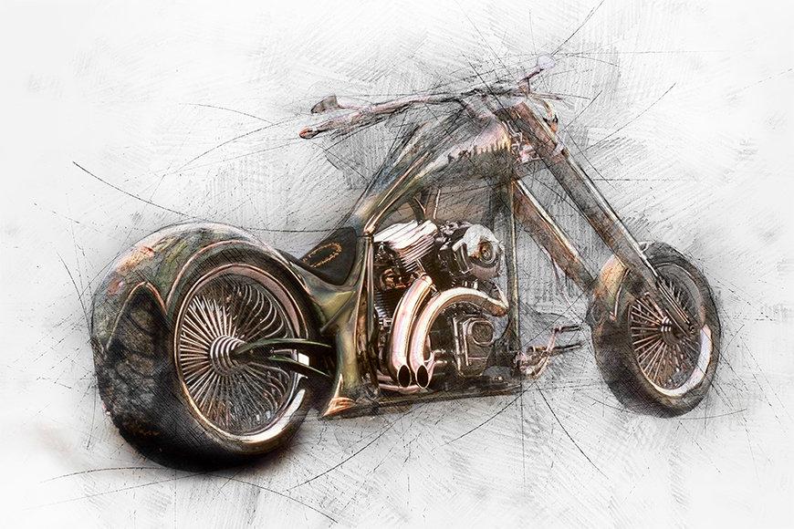 Wallpaper Bad Bike