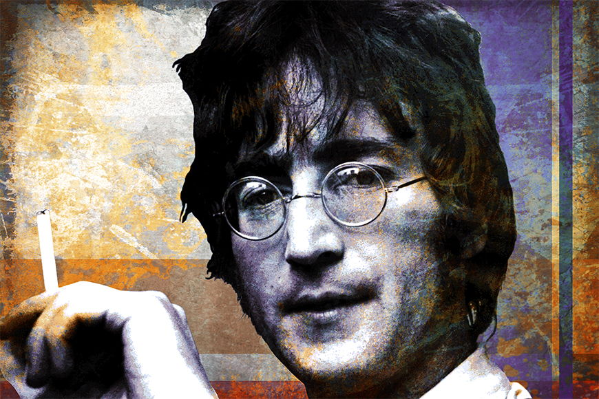 Wallpaper Lennon from 120x80cm