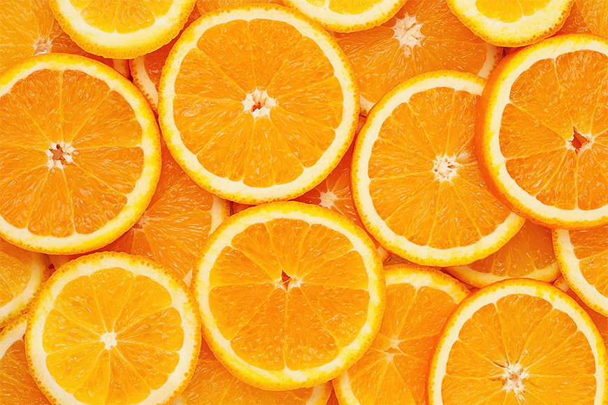 Wallpaper Oranges from 120x80cm