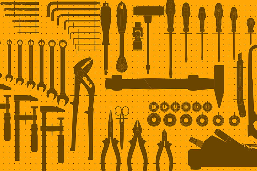Wallpaper Tools from 120x80cm