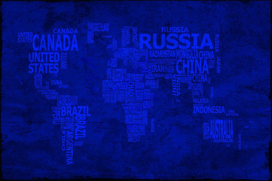 Wallpaper Worldmap 10 from 120x80cm